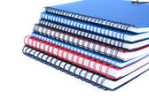 Copybook stack — Stock Photo