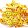 Stock Photo: Measuretape