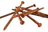 Rusty nails — Stock Photo