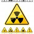 Danger Signs — Stock Vector