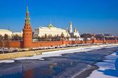 московский кремль зимой — Стоковое фото