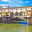 Stock Photo: Ancient bridge Ponte vecchio