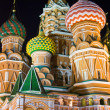 Royalty-Free Stock Photo: Saint Basil\'s Cathedral at night