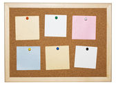 Memo board — Stock Photo