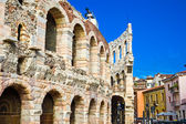 Roman Arena in Verona — Stock Photo