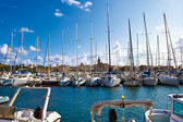 White yachts — Stock Photo