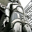 Stock Photo: Big robot on Camden Lock Market, London