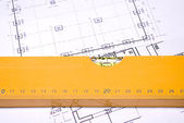 Construction planning — Stock Photo