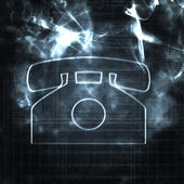 Abstract phone — Stock Photo