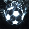 Stock Photo: Abstract ball in smoke
