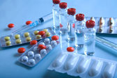 Pharmaceutical products — Stock Photo