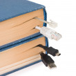 Bookmark in the book — Stock Photo #2919458