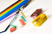 Pastell kreide zeichnen — Stockfoto