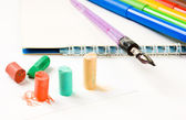 Pastel chalk drawing — Stock Photo