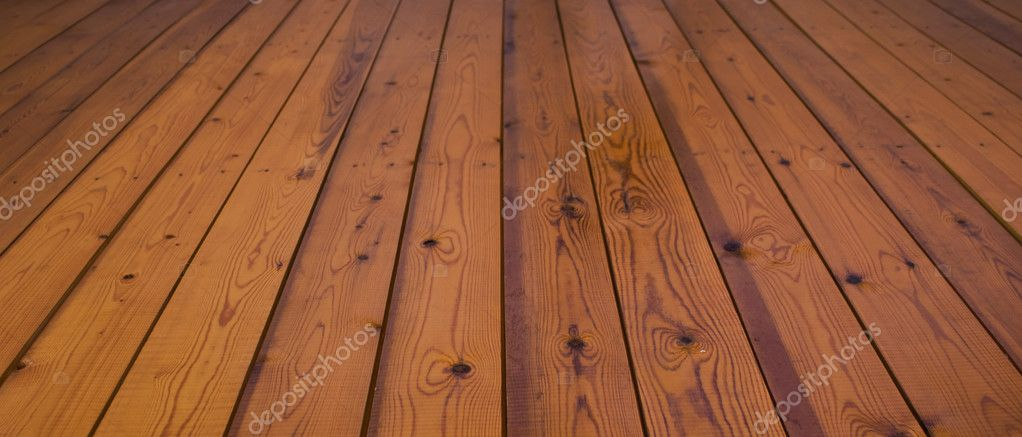Wooden plank floor  Stock Photo #3090913