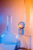 Chemical glassware — Stockfoto