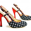 Stock Photo: Woman shoes