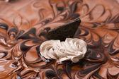 Cake chocolate — Stock Photo