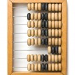 Stock Photo: Old wooden abacus