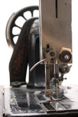 Old sewing machine — 图库照片