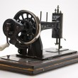 Stock Photo: Old sewing machine