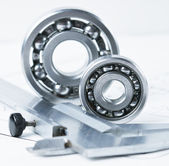 Calipers with bearing — Stock Photo