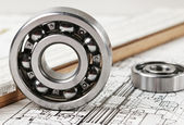 Rodamiento mecánico — Foto de Stock
