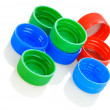 Composition of lids - Stock Photo