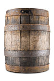 Old barrel isoalted on a white background — Stock Photo