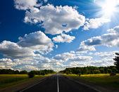 Día nublado — Foto de Stock