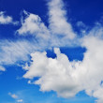 Sky nobody — Stock Photo