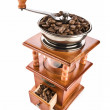 Coffee mill isolated - Stock Photo