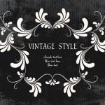 quadro floral vintage — Vetorial Stock  #2758910