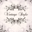Royalty-Free Stock Vectorielle: Vintage frame with irises