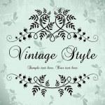 Vintage frame — Stock Vector #2881020