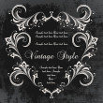 Dark vintage frame — Stock Vector #3903566