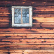 Royalty-Free Stock Photo: Window on wall old house