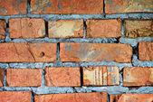 кирпичная стена древний каменный замок — Стоковое фото