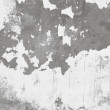 Background - concrete wall with damaged whitewas - Foto Stock