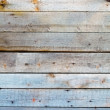 Wall covered with wooden planks — Stock Photo