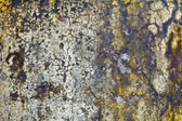 Moldy wall of old building - background — Stock Photo