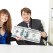 Office workers got big premium — Stock Photo #3213714