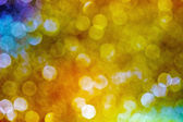 Abstract sparkling multi-colour blur background — ストック写真