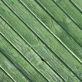 背景 - 塗られた緑の木板のテクスチャ — ストック写真