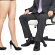 Royalty-Free Stock Photo: Male and female legs