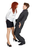Clarification of personal relationships — Stock Photo