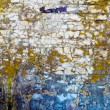 Old concrete wall with spots and cracks — Foto Stock