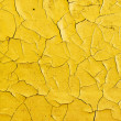 Stock Photo: Cracks on surface of oil paint