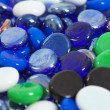 Stock Photo: Scattering glass stones