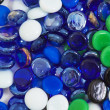 Background from multi-colored glass stones — Stock Photo #3595547